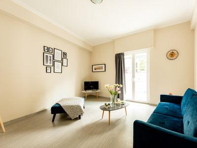 Photo for Athens Homely Apartment with Balcony view