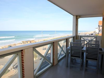 Photo for T3 50m2 + Terrace 15m2 SEEN SEA VIEW, 6 pers, Wifi and parking included, N ° 4