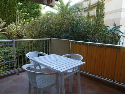 Photo for 2 SPACIOUS ROOMS - LARGE ANGLE TERRACE - PARKING - MENTON GARAVAN - CLIM