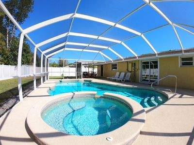 Photo for 3BR/2BA Home with Heated Private Pool - 11 mins to Bradenton Beach!