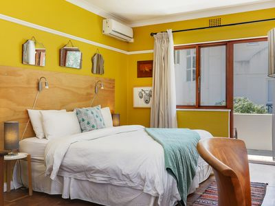Photo for Retro Camps Bay Apartment on the beach