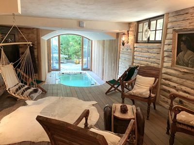 Photo for THE LADY OF JAILLET - CHALET ON THE SLOPES - SPA