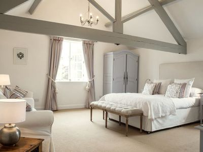 Photo for Superb detached Grade II barn conversions with hot tubs, close to coast. Pet friendly