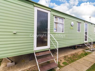 Photo for 8 berth caravan for hire at California Cliffs, Scratby, Norfolk ref 50007 D