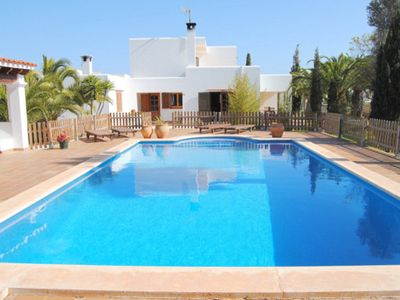 Photo for Fantastic villa with private pool near to Playa Den Bossa and Ibiza Town