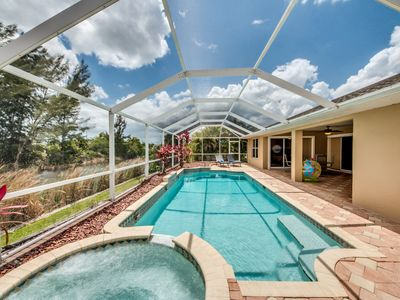 Photo for Roelens Vacations - Villa On The Lake - Cape Coral