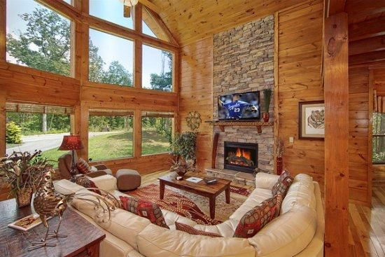 Great Room with scenic view