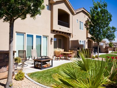 Photo for Gorgeous Townhouse , Gourmet Kitchen With Golf Course Views In Coral Ridge
