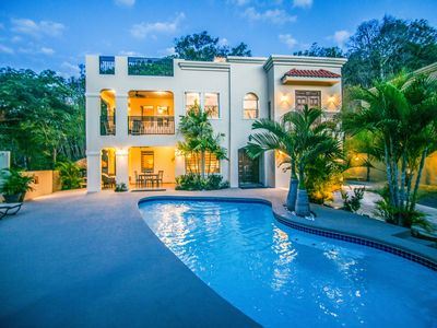 Custom Home with Private Pool.