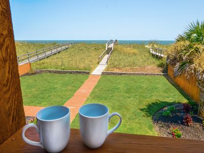 Photo for OCEAN FRONT-  Luxury Furnishings- Unbelievable Views Ocean Views from every room