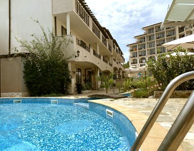 "Photo for Apartment in 4* Hotel and Spar complex ""The Cliff"" 100m from the Beach"