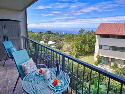 Photo for New Release - Kona Coffee Villas. Ocean view! Summer Special $99/nt