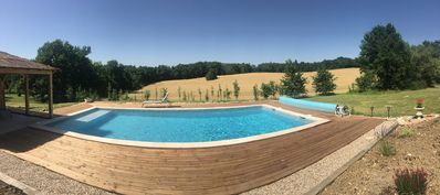 Photo for Opening 2019: Large cottage 8 people with pond 30 minutes from Bergerac