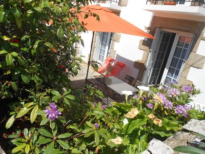 Photo for Gulf of Morbihan, Larmor Baden 100m from the port, charming 2 rooms country house