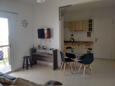 Photo for Apartment with sea view on the beach of Santinho de Florianópolis