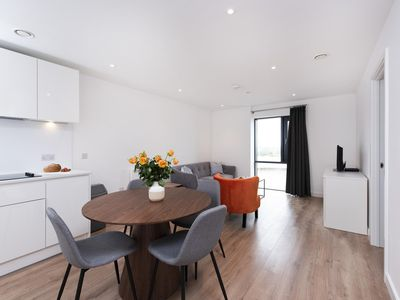 Photo for Newly Built Luxury One Bedroom Apartment - Walking Distance to Birmingham City Centre