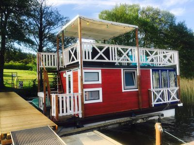 Photo for Ferienfloss Wesenberg II - Ferienfloss Wesenberg - The floating holiday home