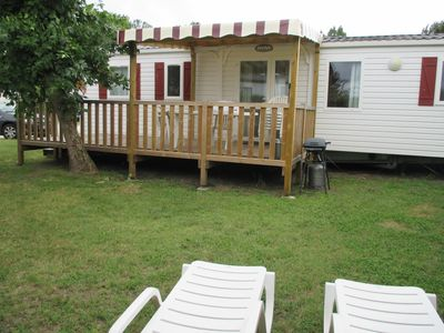 Photo for MOBILE HOME 8 PERS CLIM 3 ROOMS VILLAGE HOLIDAYS 4 * THE CHARMETTES + 1FUN PASS
