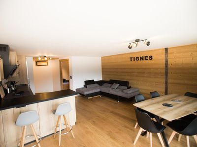 Photo for APPT, CENTER STATION, TIGNES LAKE, at the foot of the slopes 6 pers
