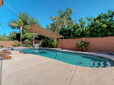 Photo for Large family home in Chandler with large diving pool, grill & Foosball table!