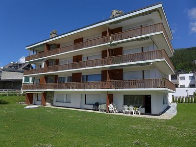 Photo for Apartment 13 m from the center of Randogne with Internet, Lift, Parking, Garden (46367)