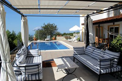 Deck and pool terrace