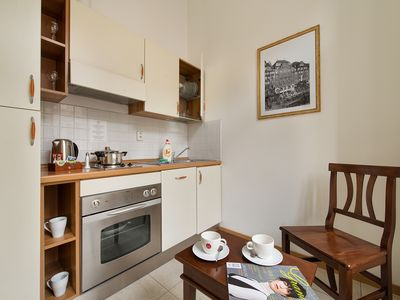 Photo for Suite Home Prague Apartment city centre with kitchen