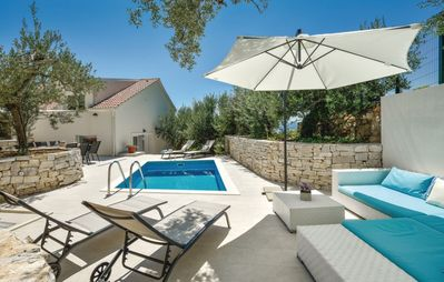 Photo for Newly built villa OLIVE TREE with Heated Pool,close to the beaches ,full privacy