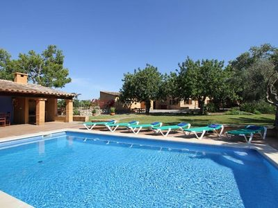 Photo for Original and Spacious Majorcan Country House with Special Charm near Porto Cristo