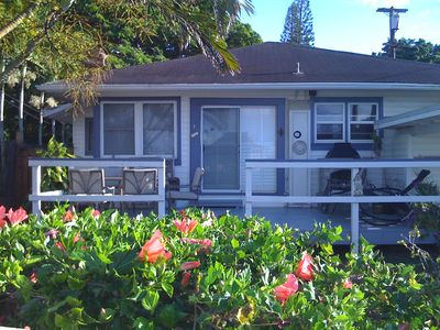 Photo for Quaint Haleiwa House - Close to everything Beach, Shops, Restaurants