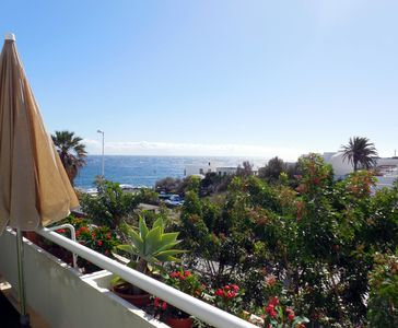 Photo for Sunny apartment on the seafront in El Poris, Wi-Fi