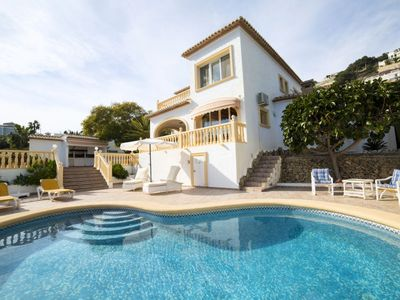 Photo for Vacation home Paradise  in Calpe/ Calp, Costa Blanca - 8 persons, 4 bedrooms