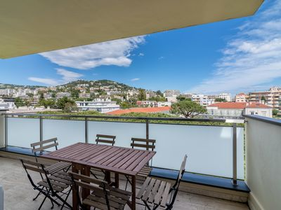 Photo for Large Apartment 5 min from La Croisette by easyBNB