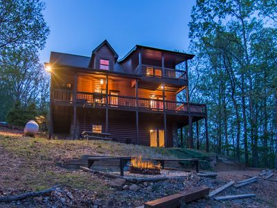 Photo for Lazy Bear Cabin Rental in the North Georgia Mountains!