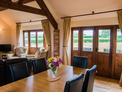 Photo for Dovecote Barn Conversion, Country Retreat, Based on a Farm, Self-catering,