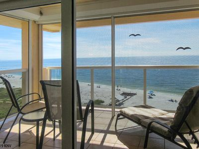 Photo for 6TH FLOOR 2B/2B BEACHFRONT BEAUTY WITH MILLION $ GULF VIEW