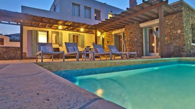 Photo for Villa Flora Mykonos Private Pool 5br upto 11guests