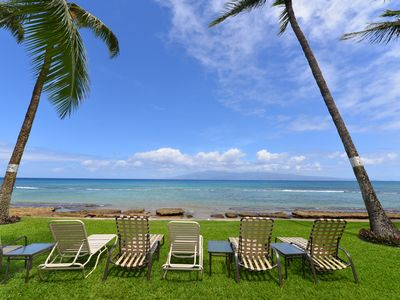 Photo for Garden View Unit In Oceanfront Resort!  Paki Maui 415