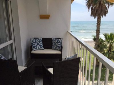 Photo for Apartment near Malaga and Nerja directly on the sea and near the boulevard!