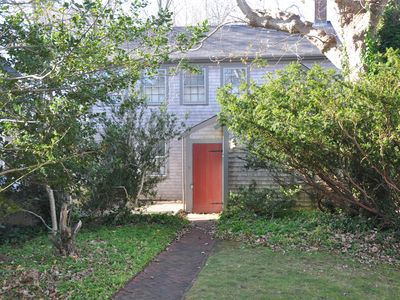 Photo for Charming Nantucket Cottage, historic downtown area, off Main Street.