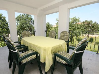 Photo for Two bedroom apartment with terrace Pinezići (Krk)