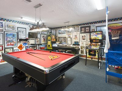 Photo for Award-Winning Game Room,4/3,Pool,Spa,Fast WiFi,2 Masters,65' 4KTV, Great Reviews