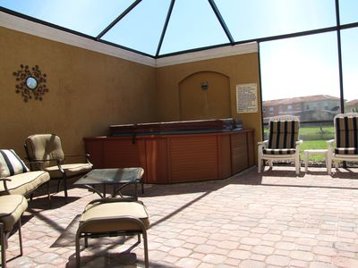 Photo for Lakeview~South Screened In Private Patio & Spa~50 ft to Clubhouse/Pool~Free Wifi