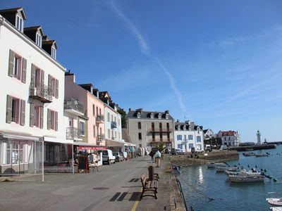 Photo for In Belle-Ile-en-Mer, superb view from the Sauzon docks.