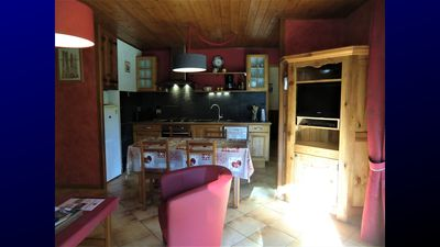 Photo for 4/5 pers *** SERRE CHEVALIER 1400 with garden, Tour de France 2019
