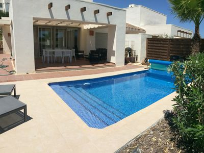 Photo for Villa with pool near the sea and the prettiest golf courses in Spain
