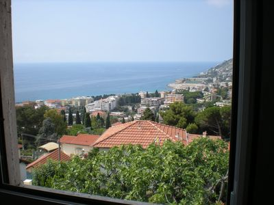 Photo for Sea view villa- Garden 1 Km from Beaches & Centre In Residential  Area