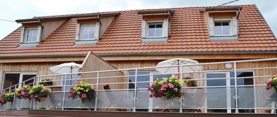 Photo for Lodging any comfort Nothalten nine with large terrace overlooking countryside