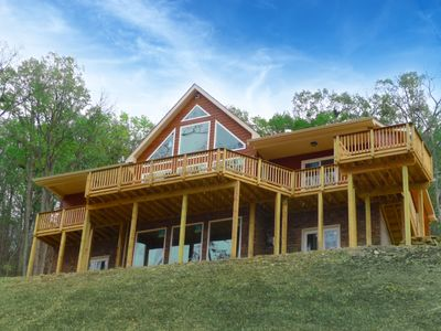 Photo for Luxurious Chalet, Incredible Views, Stunning Sunsets, Plus Scrapbooking Center