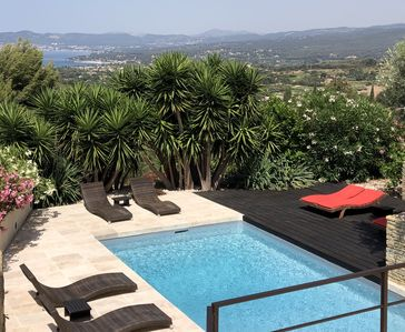 Photo for Contemporary villa, fully air-conditioned, with a stunning panoramic sea view